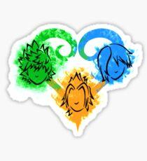 Birth By Sleep - Trio Sticker