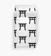 Shinto gate Duvet Cover