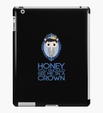 Crowned Moriarty iPad Case/Skin