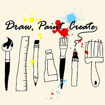Draw Paint Create   by ArtVixen