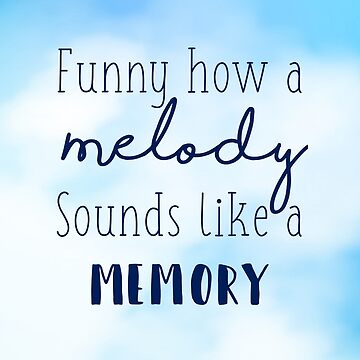 Funny How a Melody Sounds Like a Memory- Springsteen Eric Church Lyrics by Claireandrewss