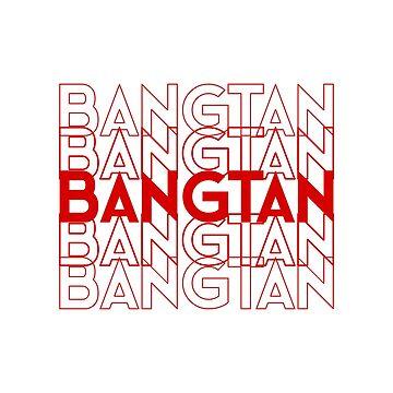 Bangtan/BTS Shirt by LadyCyprus