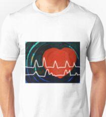 Heartbeats Unisex T-Shirt