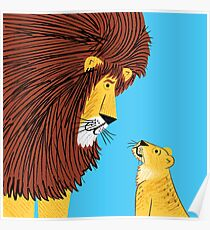 Listen To The Lion Poster