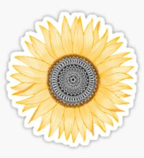 Sunflower Mandala xs Sticker
