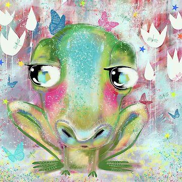 Fergus The Frog by Hyssopartz