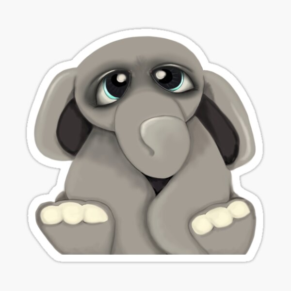 Elephant Baby Sticker