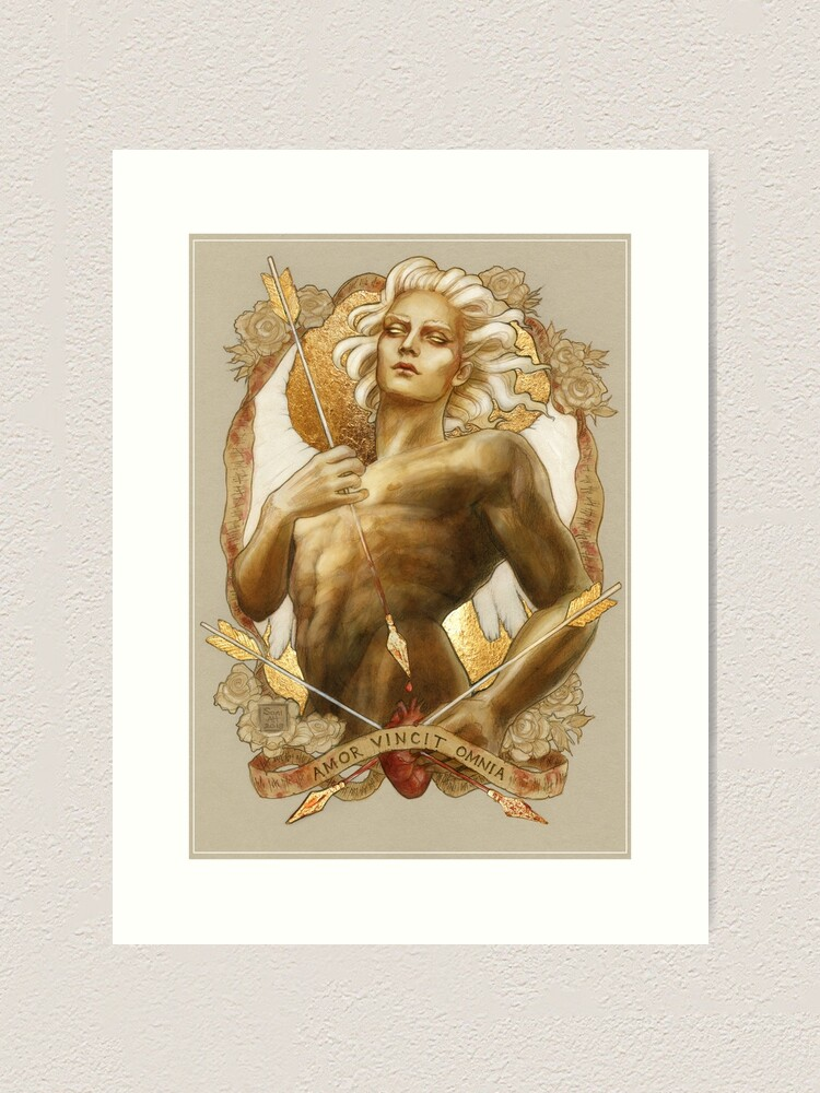 Alternate view of Love Conquers All Art Print