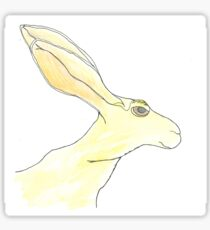 Jack Rabbit Sticker