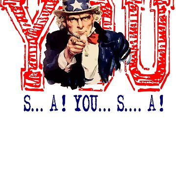 USA Patriotic Uncle Sam Victory Chant by tommytidalwave
