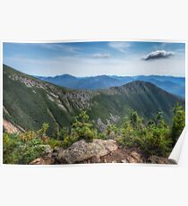 Bondcliff ridge, New Hampshire. Poster