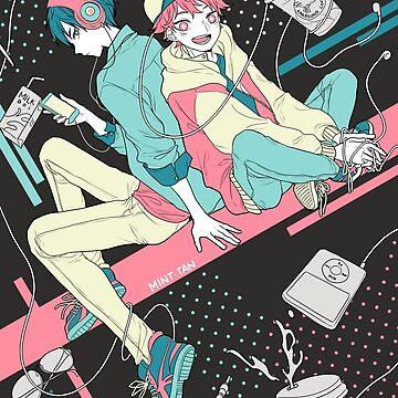 Kagehina - College Life by mintdesu