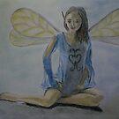 Blue Fairy by Susan van Zyl