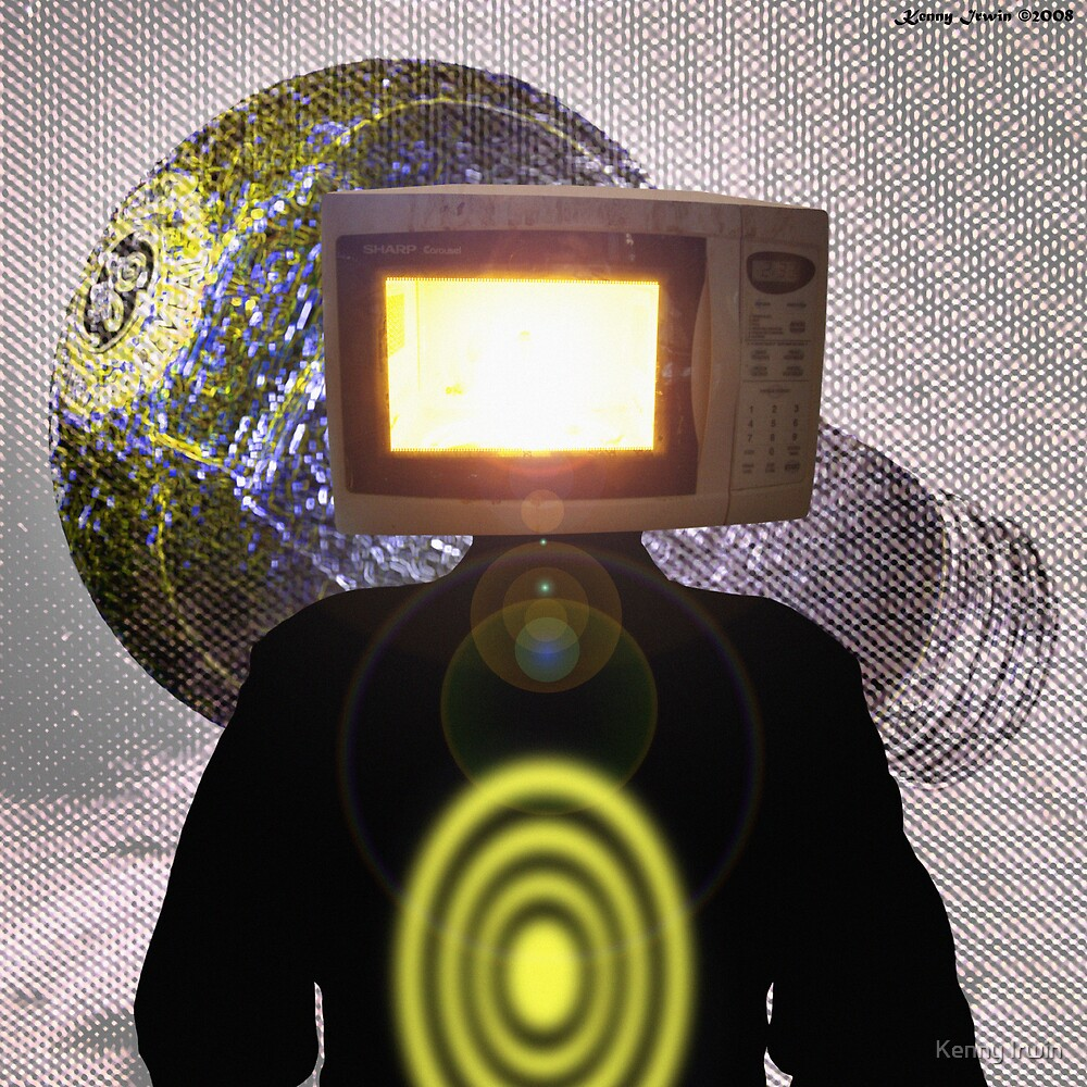 Planet Magnetron (çΩç) Born Of Microwaving by Kenny Irwin
