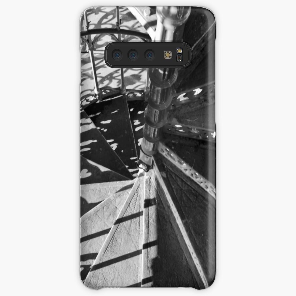Spiral Staircase of the 'Elevador de santa Justa' Case & Skin for Samsung Galaxy