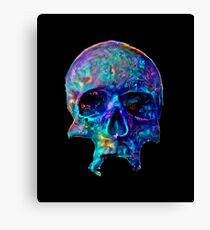 Unique Psychedelic Skull  Canvas Print