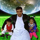Great Father Idrees & The Future Generations of the Pakistani Starfleet by Kenny Irwin