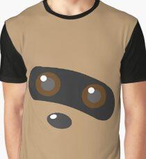 Minimalist Zigzagoon Graphic T-Shirt