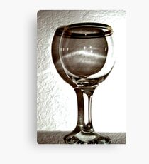 The Glass Canvas Print