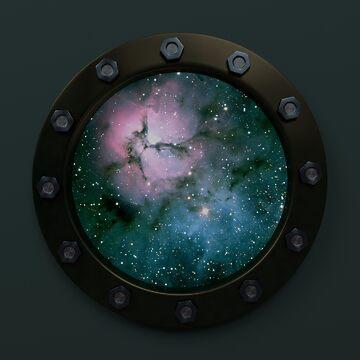 Nebula Porthole by yarddawg