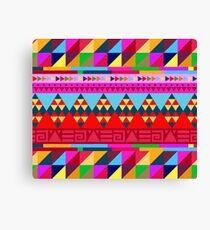 Colorful Ethnic Canvas Print
