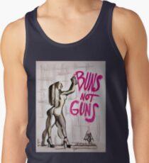 Buns Not Guns Men's Tank Top