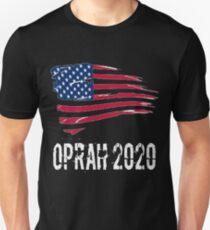 President Oprah 2020 Political Presidential Election Liberal Left Shirt Unisex T-Shirt