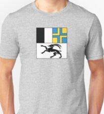 Flag of Graubünden Canton  T-Shirt
