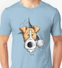 Cute Fox Terrier Dog Unisex T-Shirt