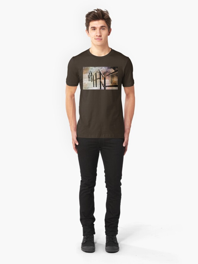 Alternate view of Down The Up Staircase Slim Fit T-Shirt