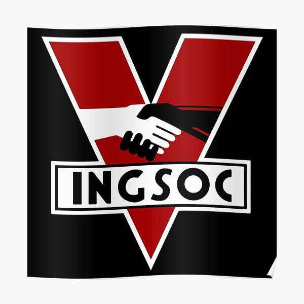 1984 Ingsoc Logo Poster