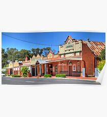 Australian Country Town, Ganmain, NSW (HDR) Poster