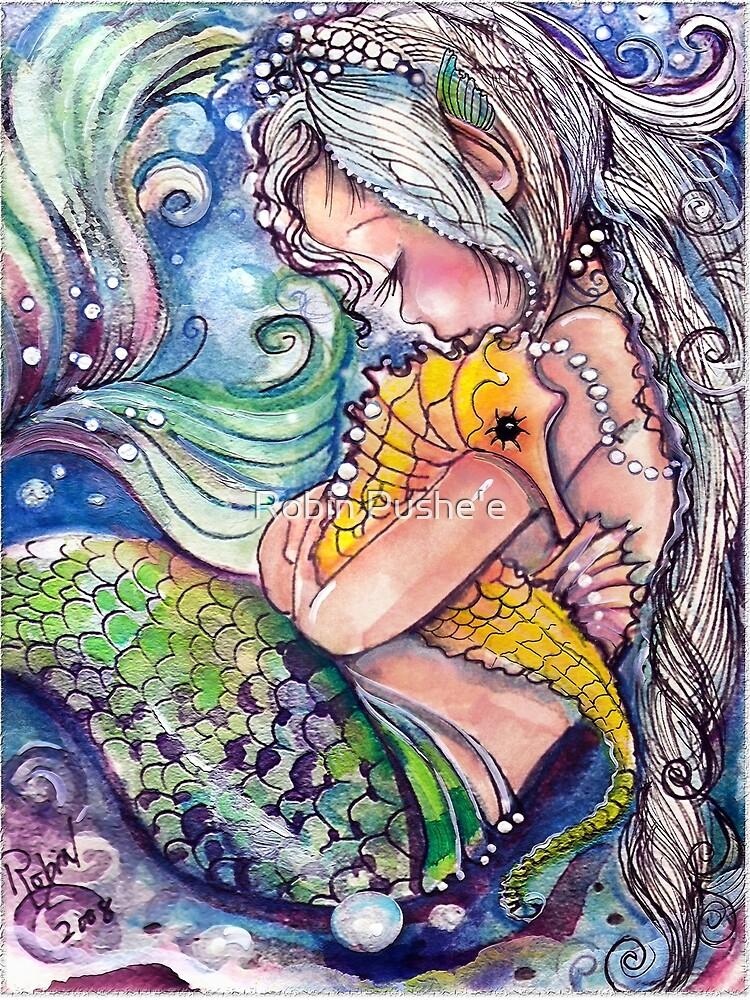 SeaHorse Hugs by RobinAnne