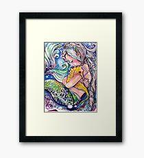 SeaHorse Hugs Framed Print