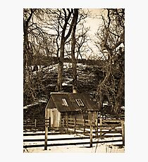 The Woodcutter's Shed Photographic Print