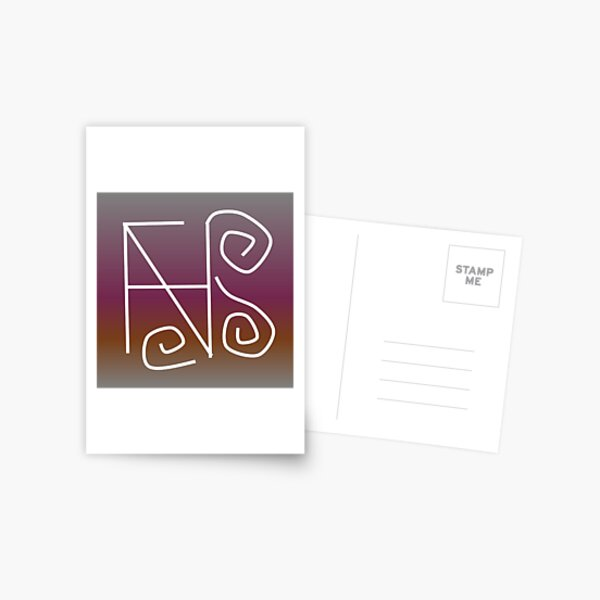 Sigil to Focus on Happiness Postcard
