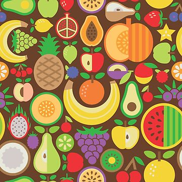Fruit Pattern by Lisann