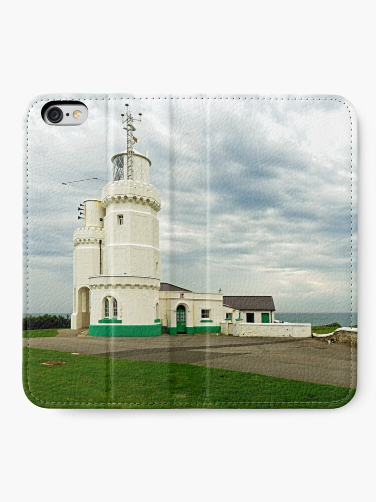 Alternate view of St Catherine's Lighthouse, Isle of Wight iPhone Wallet