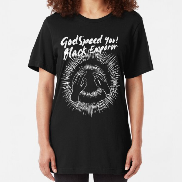 GY!BE lift your skinny fists Slim Fit T-Shirt