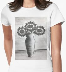 Sunflowers Women's Fitted T-Shirt