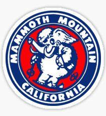 Mammoth Mountain California Sticker