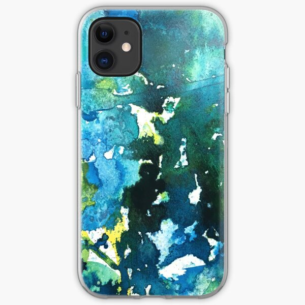 Teal We Meet Again iPhone Soft Case