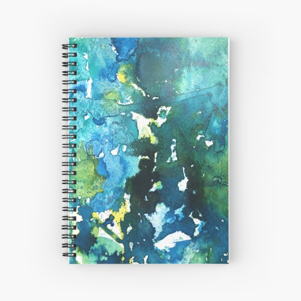 Teal We Meet Again Spiral Notebook