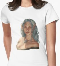 elf girl Fitted T-Shirt