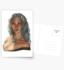 elf girl Postcards