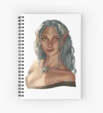 elf girl Spiral Notebook