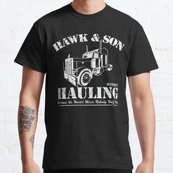 Hawk et son transport T-shirt classique