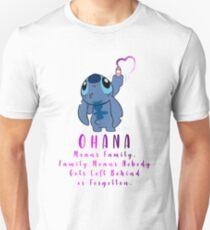Lilo and Stitch Ohana Unisex T-Shirt