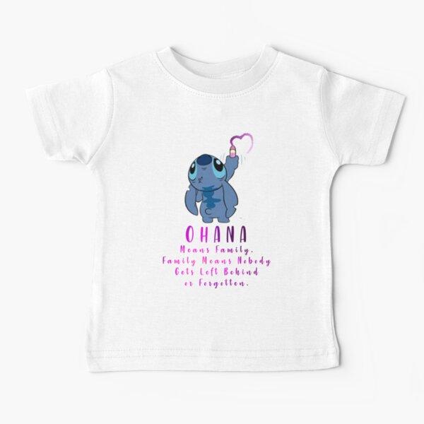 Lilo y Stitch Ohana Camiseta para bebés