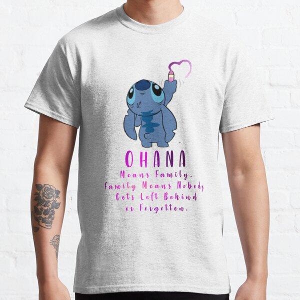Lilo et Stitch Ohana T-shirt classique